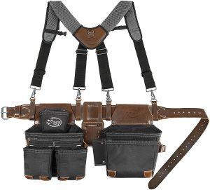 Dead On Tools DO-HSR Leather Hybrid Tool Belt with Suspender