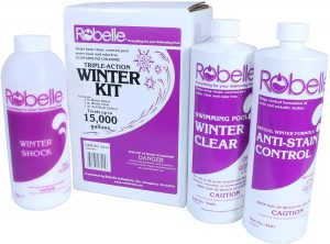Robelle 3415 Triple-Action Winter Kit for Swimming Pools