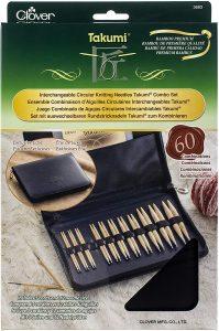 CLOVER Takumi Combo Interchangeable Circular Knitting Needles
