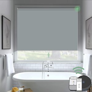 Yoolax Motorized Blind Shade for Window with Remote Control Smart Blind