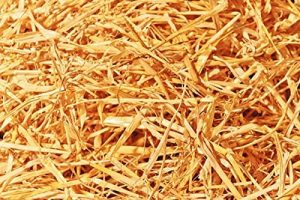 Double F Farms Premium Organic 100% Natural Straw for Animal Bedding