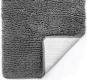 Gorilla Grip Luxury Chenille Bathroom Rug Mat