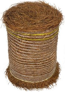 Longleaf Pine Straw Roll for Landscaping