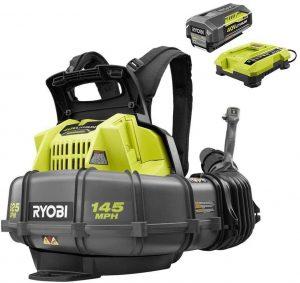 Ryobi RY40440 Cordless Brushless Variable Speed Backpack Leaf Blower