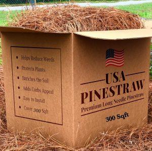 USA Pine Straw - Premium Pine Needle Mulch